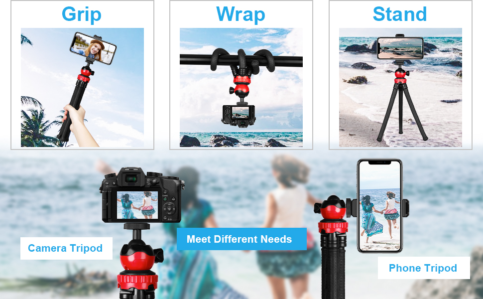 Adofys presents the Phone and Camera tripod