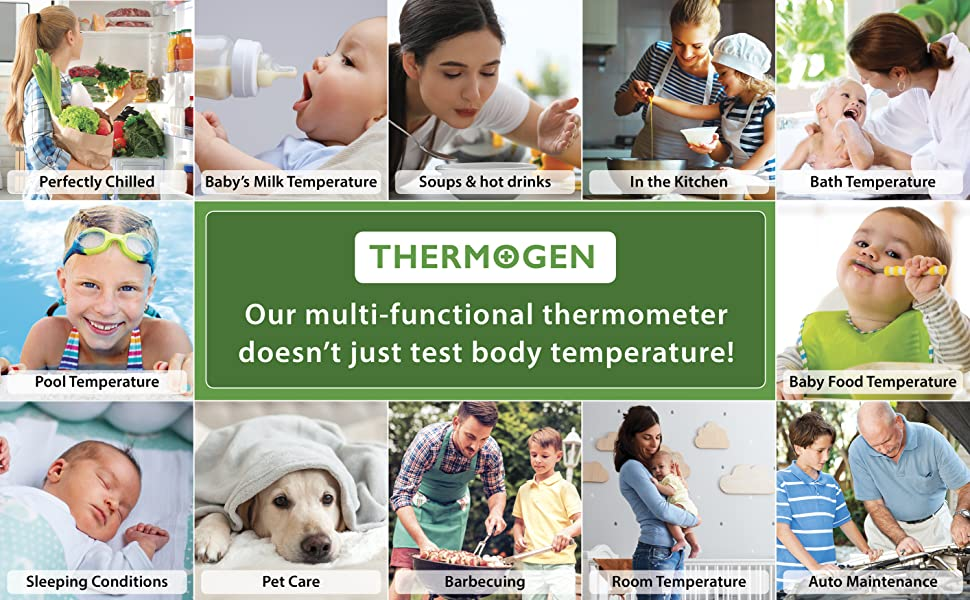 Thermogen Multi-functional Thermometer