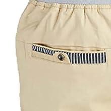 Pantalones cortos hombre con bolsillos traseros