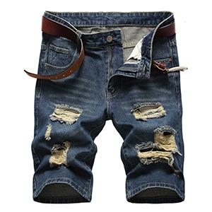 mens ripped denim jean shorts denim shorts for men men jeans shorts ripped fashion ripped shorts