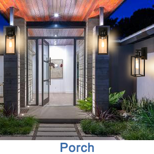 porch lights outdoor wall