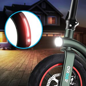 Front and Rear Light and Reflective Article