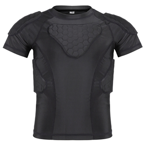 padded compression shirts youth