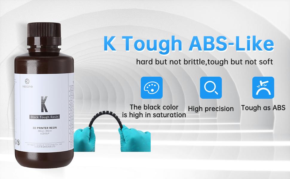 K tough abs-like 3d printer resin:high precision,tough as abs