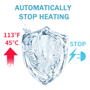 AUTOMATICALLY STOP HEATING