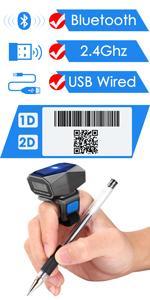 ring glove barcode scanner