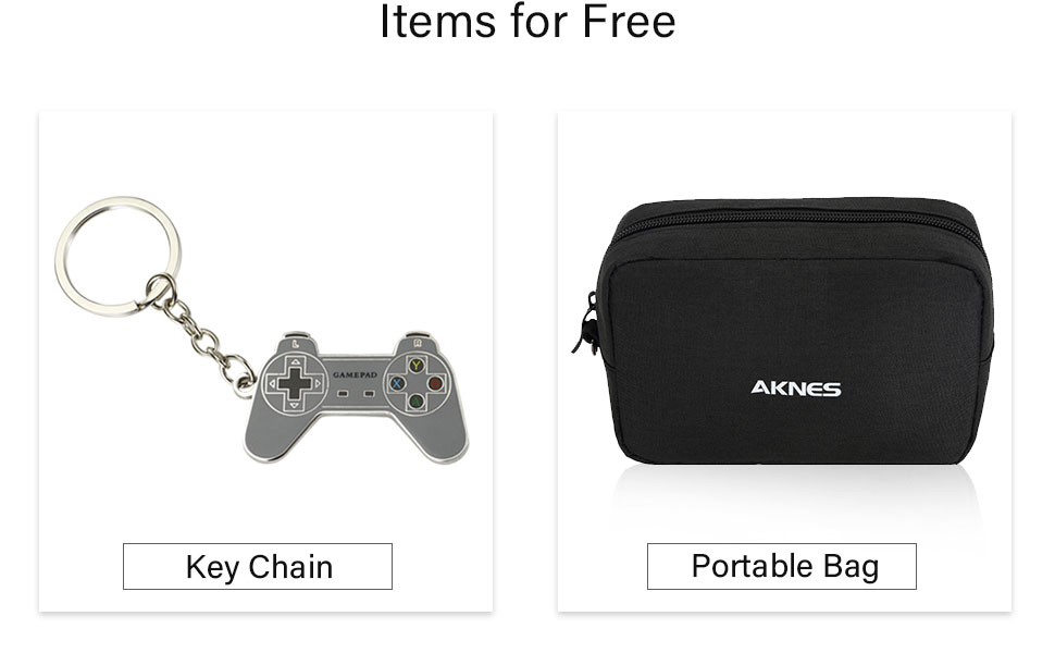 Controller carrying bag and keychain for free