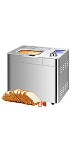 25 in 1 Automatic Gluten Free Bread Maker Machine