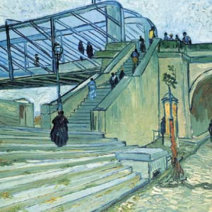 Trinquetaille Bridge, October 1888, oil on canvas, 74 x 93 cm, private collection