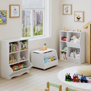 5 cubbies shelf