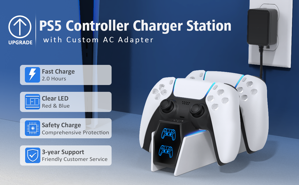 PS5 Controller charging station