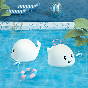 Induction swimming pool toy
