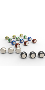 round magnet pins