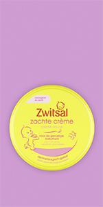 Zwitsal Zachte Crème Baby houdt de huid en het gezicht van je baby zacht en soepel, pH-huidneutraal