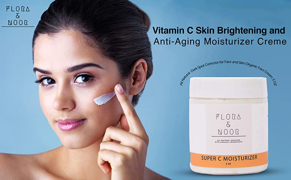 Flora and Noor Vitamin C Face Moisturizer
