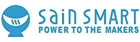SainSmart Logo with Slogan amp;#34;POWER TO THE MAKERamp;#34;