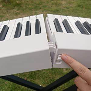 MAGICON 88 Key Foldable Electronic solid Piano
