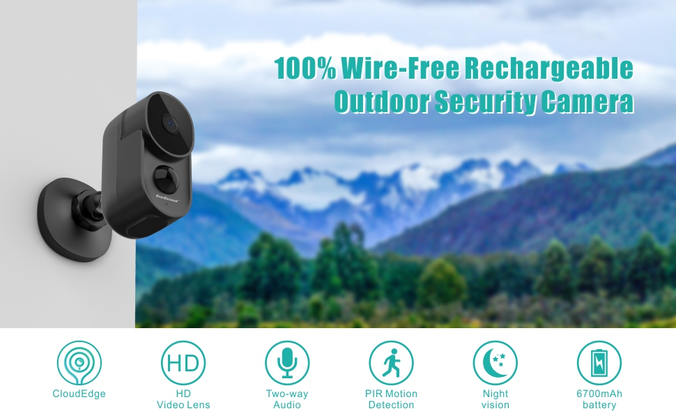 battery camera outdoor wireless