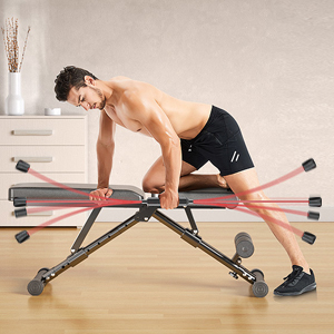 Exercise the whole body muscles