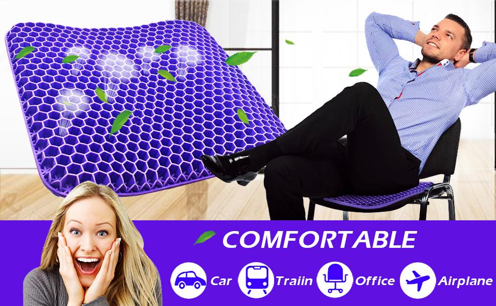 gel seat cushion for office chair