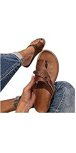 Women Casual Flatform Studded Wedge Sandals Summer Open Toe Ankle Strap Platform Sandals
