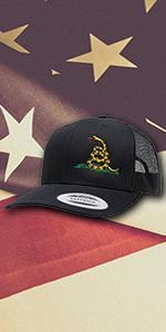 dont tread on me snapback hat