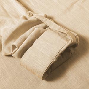 Babioboa Mens Linen Shirt Long Sleeve Casual Button Down Shirt