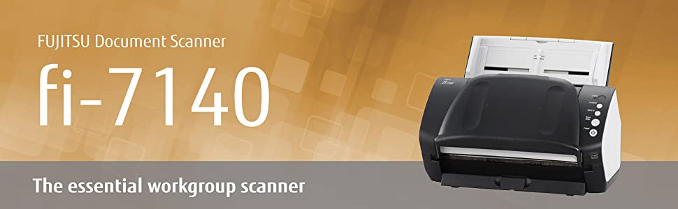 Fujitsu Document Scanner fi-7140 - The Essential Workgroup Scanner