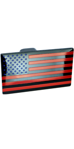 American Flag Metal Trailer Hitch Cover