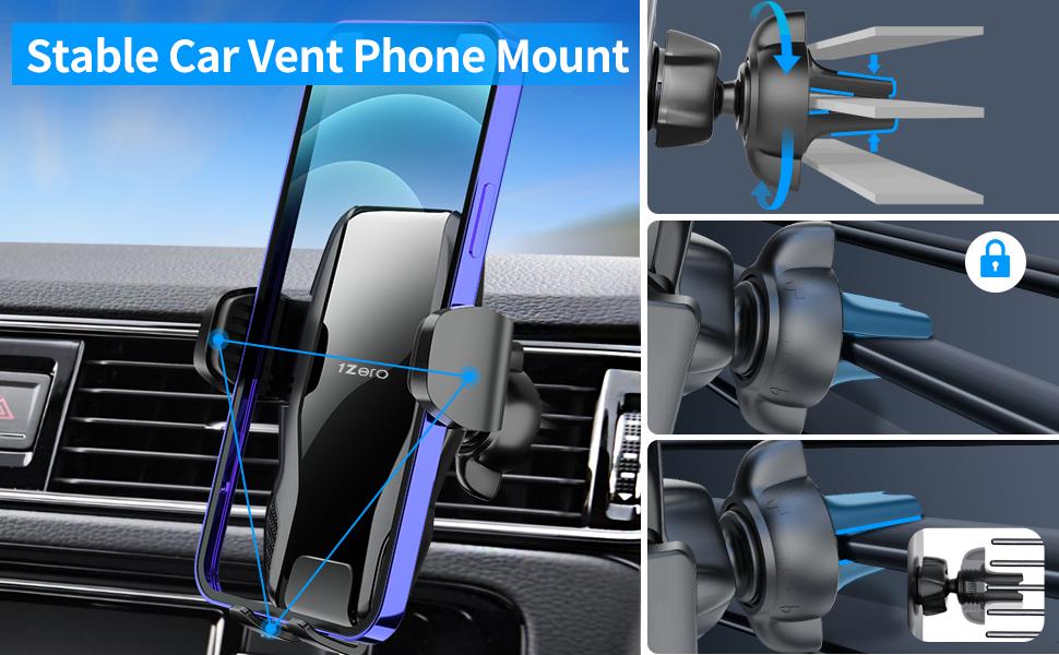 vent phone mount