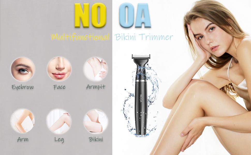 Bikini trimmer, shaver for women, electric razor for women, leg shaver, womens shaver  public hair