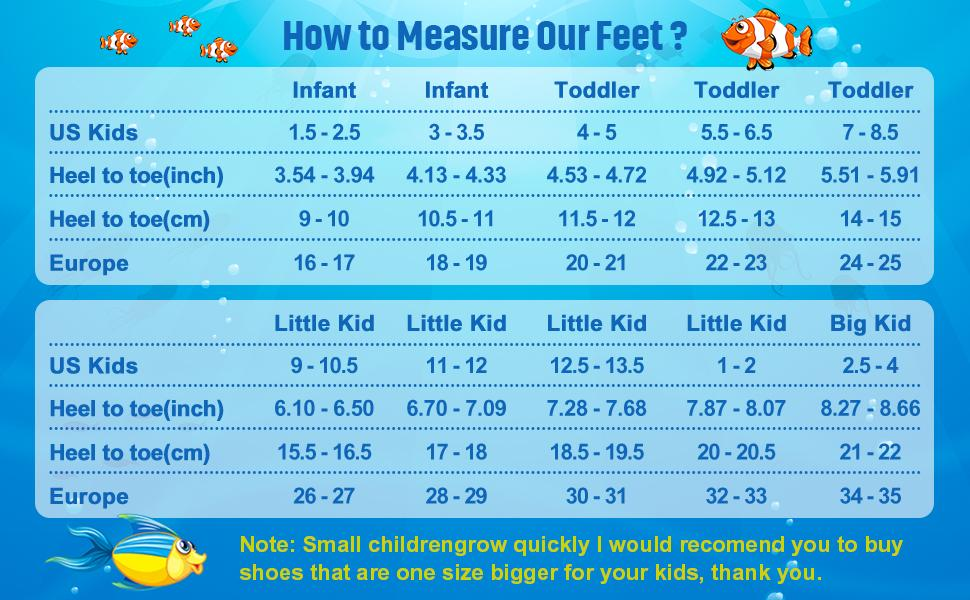 water shoes for kids