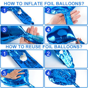 Inflate air