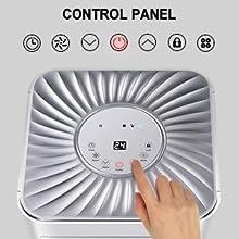 portable air conditioner control panel