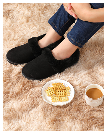 coffee with soft slippers