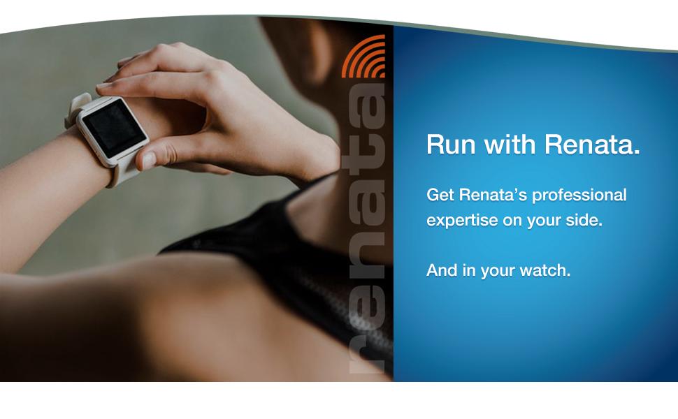 Mercury-free Renata watch batteries