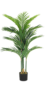 fake palm tree artificial palm artificial palm tree for living room faux plants tall