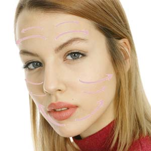 beauty gua sha smile Face spa Cupping Acupuncture Remove wrinkles women