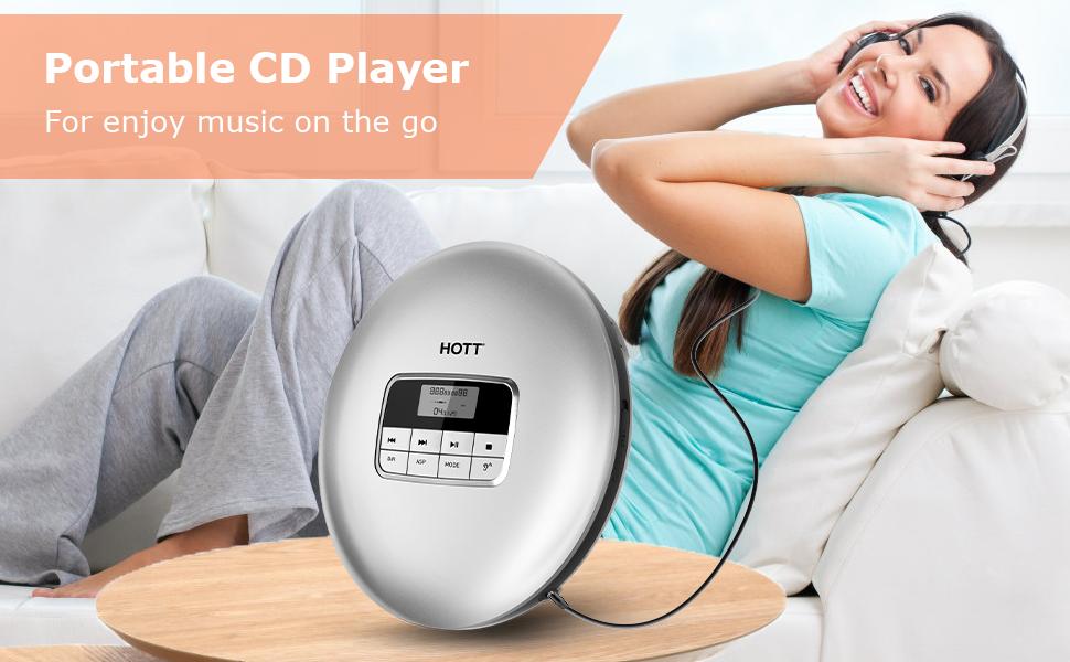 HOTT Portable CD Player