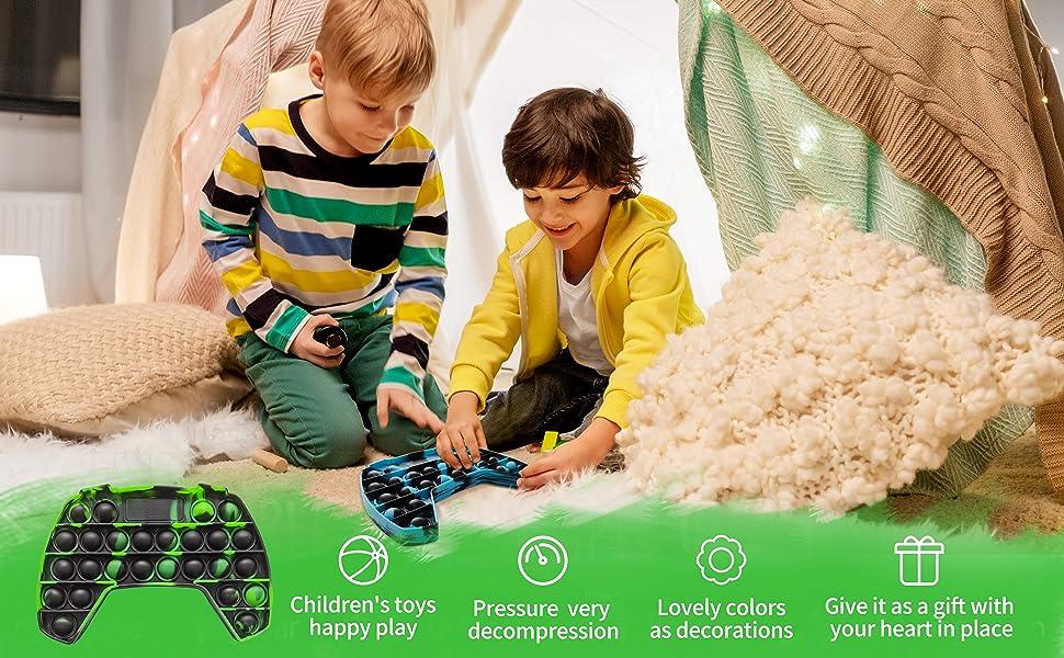 Gamepad Push Pop Pop Bubble Sensory Fidget Toy