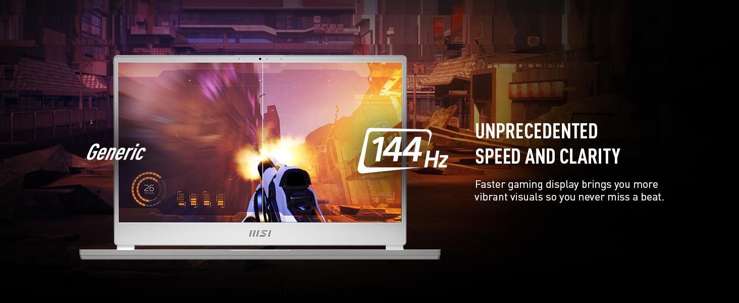 144Hz fast gaming low response rate competitive gaming esports