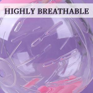 Breathable design.