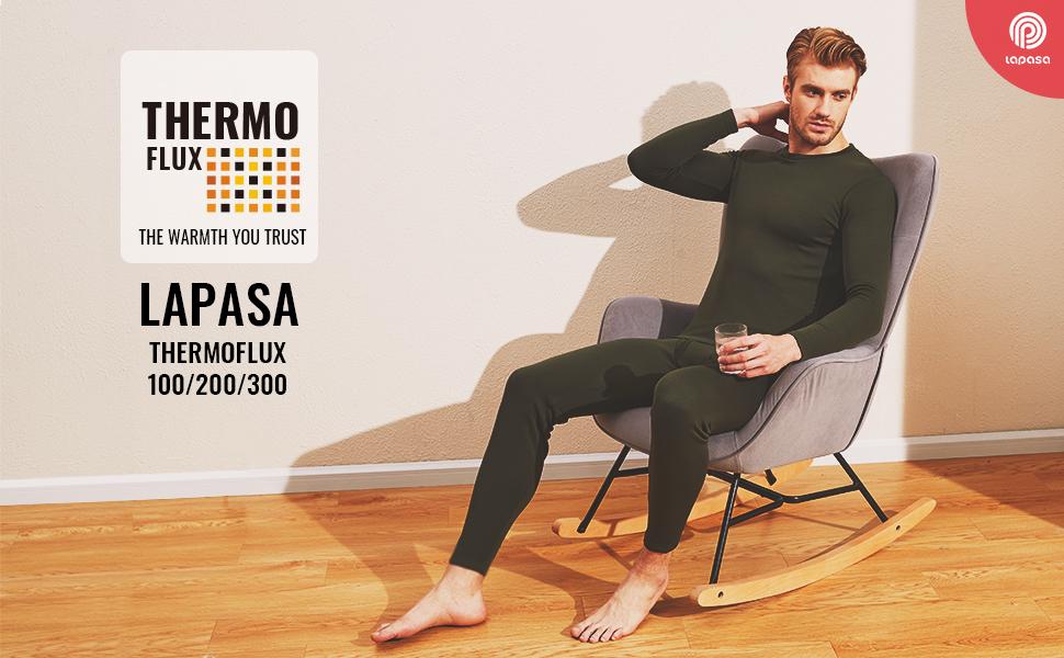 LAPASA Men's Thermal base layer