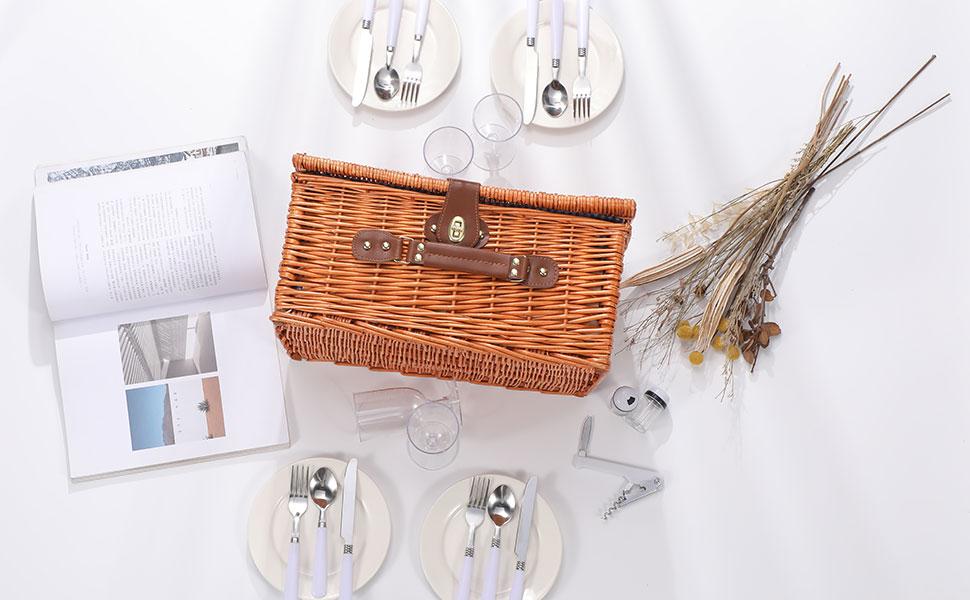 picnic basket for 2 wine gift basket