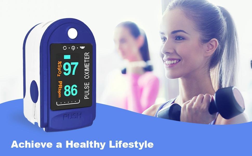 Oximeter Fingertip Oximetry oximeter digital dr micro with blood pressure spO2 pulse bp trus b