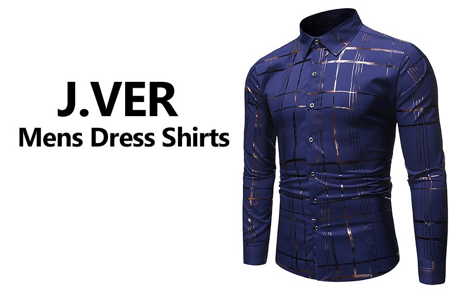 J.ver Mens Dress Shirts