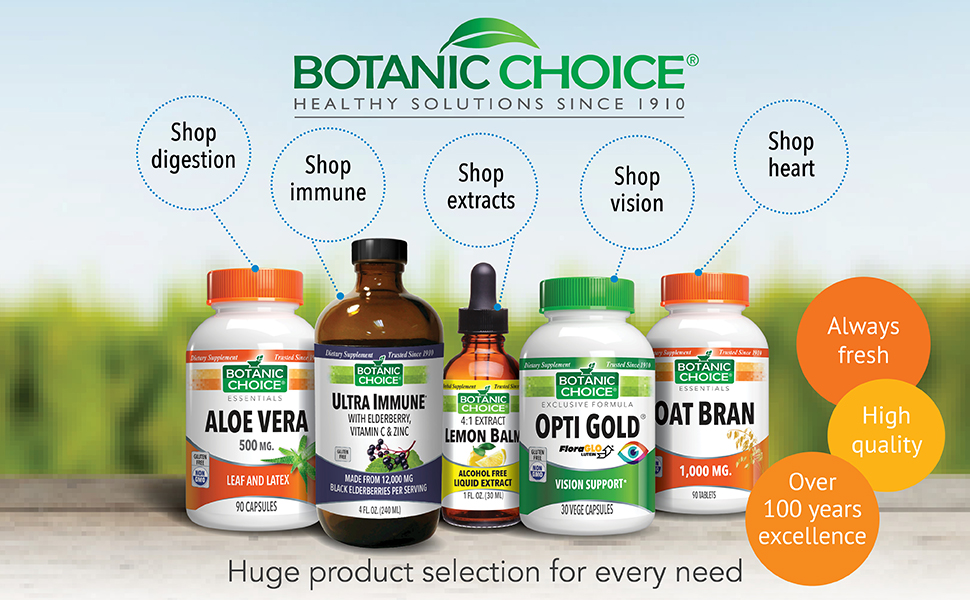 Botanic Choice - Healthy Solutions Since 1910