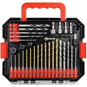 Impact Driver Bits and Screwdriver Bits Set 49 Pcs Hex Shank Drill Bit Set