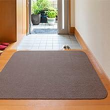 サンコー チェアマット ずれない ゲーミング デスクマット 床保護 おくだけ吸着 90×120cm 日本製 撥水 床暖房 カット コード カーペット