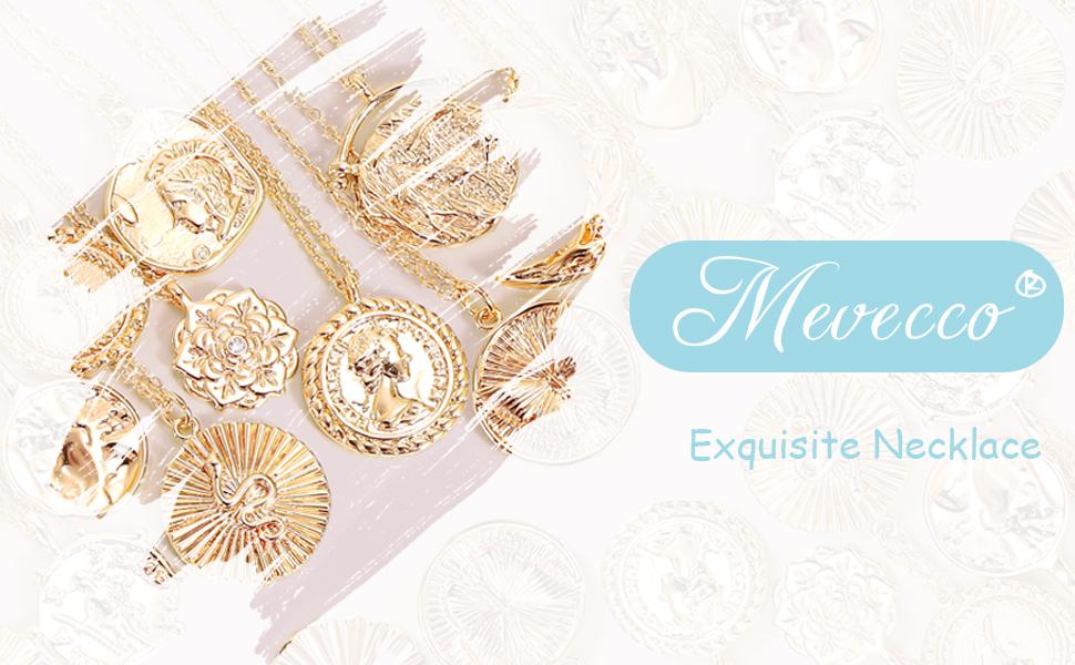 mevecoo coin necklace